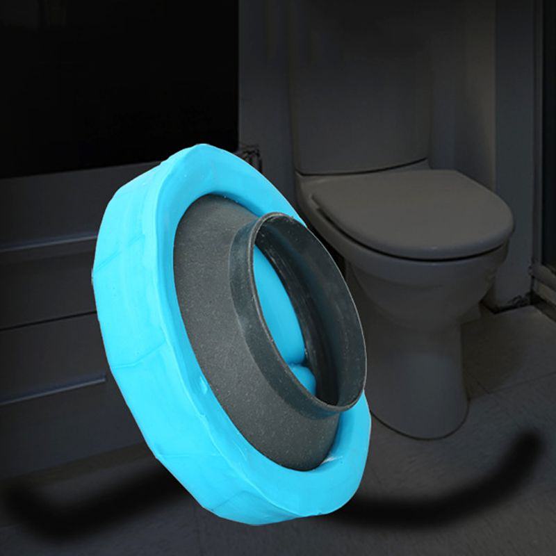 Toilet Bowl Flange Ring Odor-resistant Drain Pipe Donut Sealing Ring Toilet Anti-leakage Installation Fitting Accessory Tool