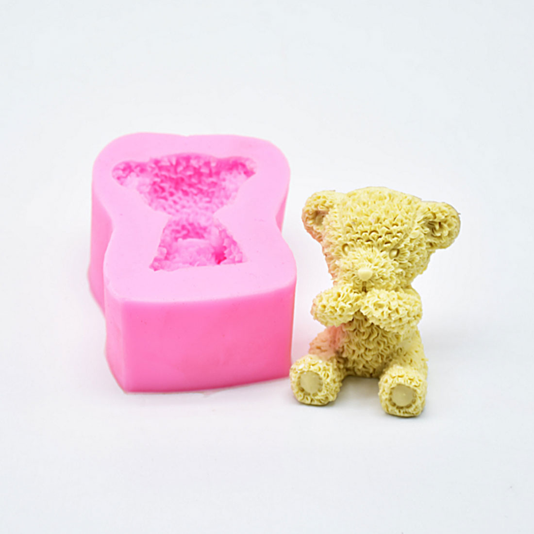 Hot Sale Sugarcraft Mini Bear silicone mold fondant mold cake decorating tools chocolate soap mold