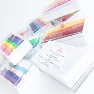 Image 5 - Pro gökkuşağı vücut yüz boya makyaj boyama Pigment 30 g/takım renkli serisi vücut sanatı cadılar bayramı Neon UV metalik yüz boya