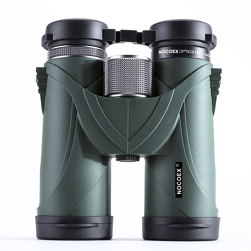 NOCOEX 10x42 Binoculars Telescope Professional Military HD High Power Hunting Outdoor original binoculars 10x42 high power hd optical lenses mc green film military telescope for hunting outdoor spotting scope
