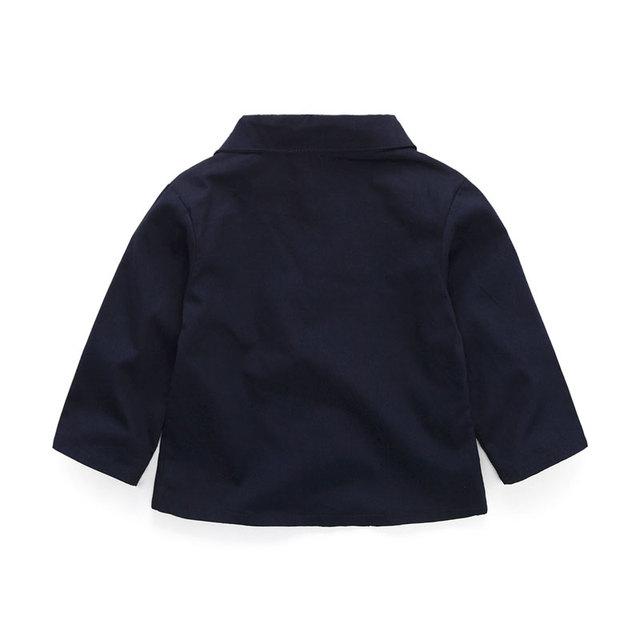 Boy's Cotton Jacket, Shirt and Pants Set