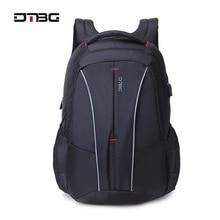 DTBG 대용량 스마트 학교 배낭 17.3 인치 노트북 패션 학생 대학 발수 학교 가방 Sacs 배낭