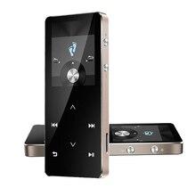 Lo nuevo C20 metal HIFI Bluetooth Reproductor de MP3 8G Táctil de 2.0 pulgadas Tecla de pantalla Reproductor de Música MP3 Radio FM Reproductor de Vídeo Deporte E-Book