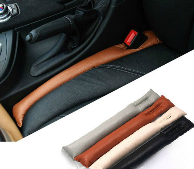2017 Faux Leather Car Seat Gap Pad Fillers Holster / Decoration ...