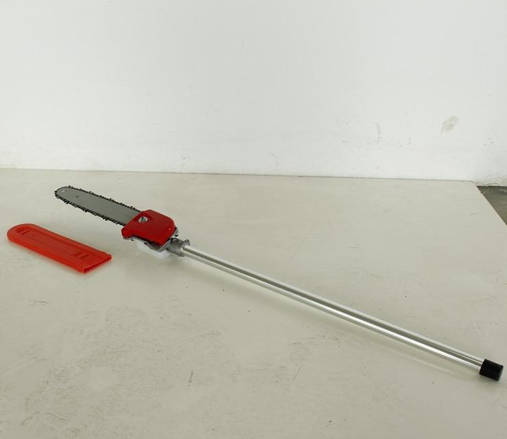 Высокое качество Профессиональная полюсная цепная пила головка для мульти кусторез, триммер для травы полюсная цепная пила насадка, кусторез части - 2