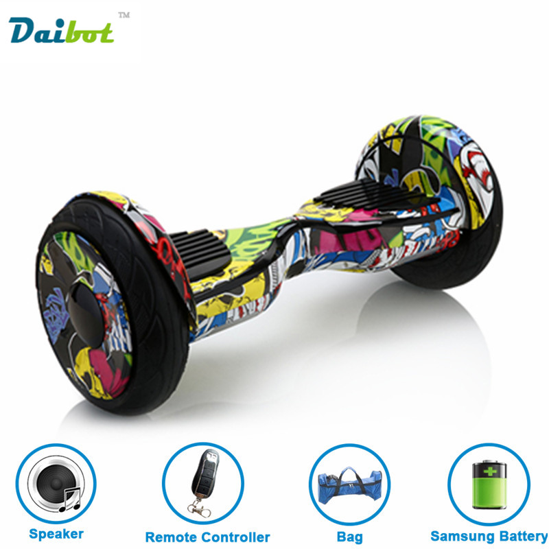 France stock 2017 New 10 inch bluetooth font b hoverboard b font Samsung Battery Electric Scooter