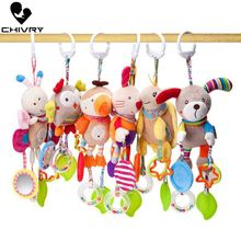 Chivry Baby Rattles Toys New Infant Baby Plush Toy Bed Wind Chimes Rattles Toy Stroller Newborn Kids Crib Bed Hanging Bells Toys 46cm giraffe rabbit bed bells infant toy ultra long hanging giraffe baby toys rattle bed bells toys 20% off