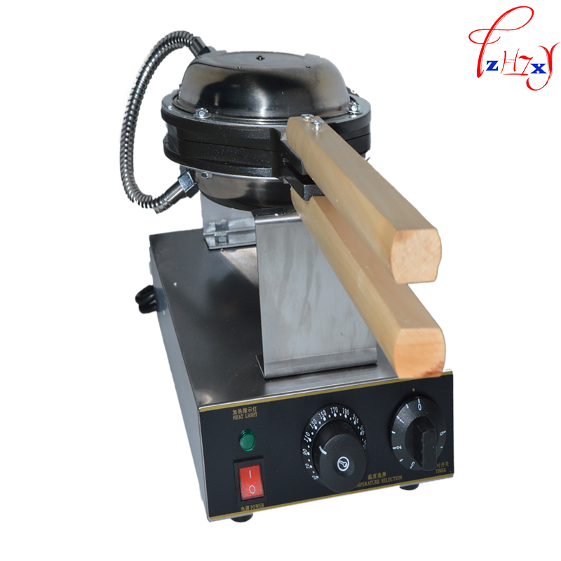 1PC 110/220V Egg puff machine egg waffle maker,egg waffle iron,Bubble Waffle wafer machine,FY-6 Electric Egg Waffle Maker directly factory price commercial electric double head egg waffle maker for round waffle and rectangle waffle
