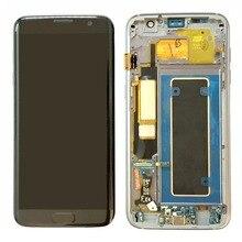 Для samsung Galaxy S7 край G935 G935F Super AMOLED ЖК-дисплей Дисплей + Сенсорный экран планшета Ассамблеи Запчасти для авто