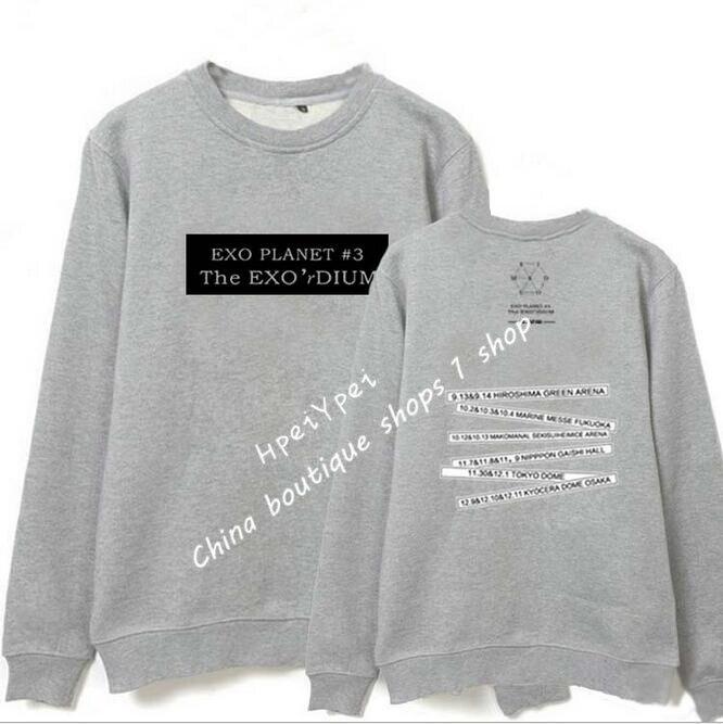 US $23 02 20% OFF|Exo produtos moletom Park Canlie Bianbo Meisje Herfst  hoodie sweatshirt kpop k pop in Exo produtos moletom Park Canlie Bianbo  Meisje