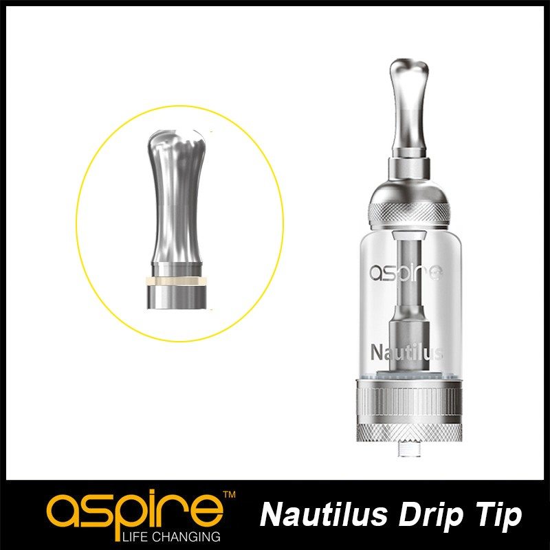 4 pcs/lot e cigarette accessory Aspire Nautilus Drip Tip Compatible With Aspire Nautilus&Nautilus Mini Atomizer 1