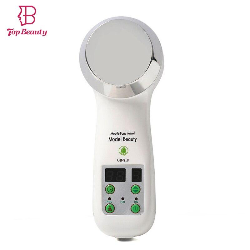 1 MHz ultrasónico que adelgaza masaje terapia de ultrasonido cavitación pérdida de peso quemar grasa masajeador Facial rejuvenecimiento de la piel dispositivo