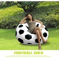 Inflatable Sofa Chair Large Football Basketball Design Bean Bag Chair for Adults & Teens Perfect for Indoor & Outdoor Armchair