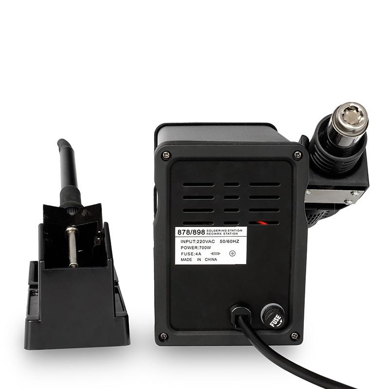 YAOGONG 898D SMD Mini Stație de lipit de fier - Echipamente de sudura - Fotografie 3