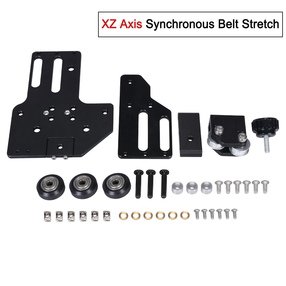 2040 aluminium profil XZ axe synchrone courroie stretch pièces redressant tendeur 3D imprimante accessoires