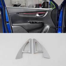 цена на Car Accessories ABS Interior Front A Pillar Triangle Cover Trim For Kia K2/Rio 2017 Car Styling