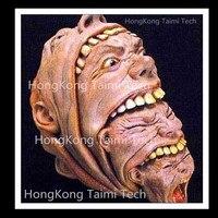 Overlapping head Latex Mask Scary Horror Halloween Masks Demon Parasite Zombie Vampire realista vampire Super terror Thriller