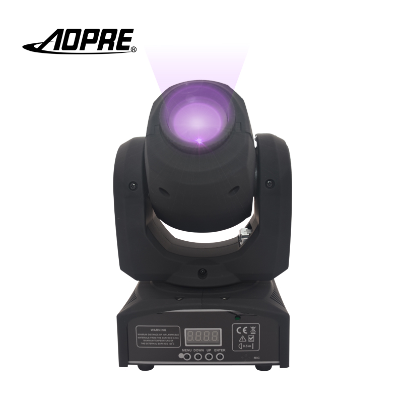 AOPRE RGB Mixing Lighting Moving Head DMX Stage Lighting Effect 60W Led For Pub Wash Dj Stage Light Disco Party Light 30RGB mini rgb led party disco club dj light crystal magic ball effect stage lighting