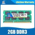 Sodimm Памяти DDR3 2 ГБ 1600 204pin ddr3 PC3-12800 Памяти Ram ddr 3 1333 PC3-10600 Для AMD Intel Ноутбук Жизни гарантия