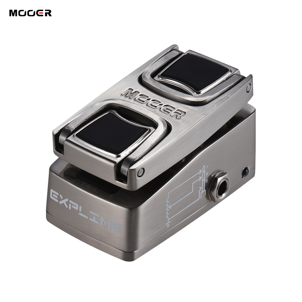 Musical Instruments Mooer Expline Mini Expression Effect Pedal Pressure Sensing Switch Full Metal Shell Big Clearance Sale