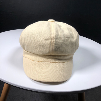 Women Cap Hats Solid Plain...