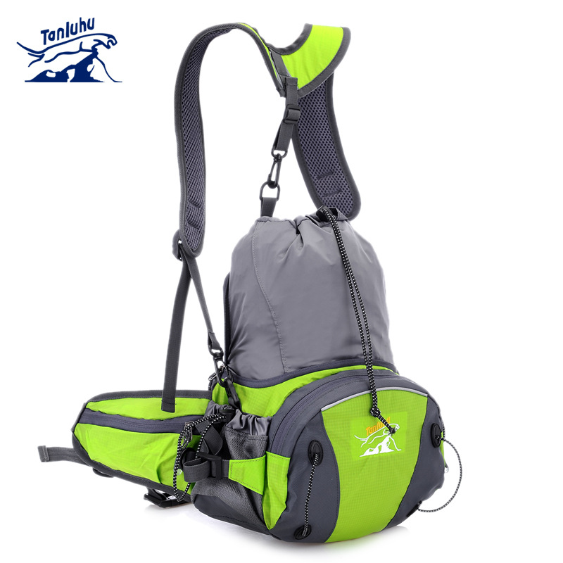 TANLUHU 316 Water-resistant Running Jogging Cycling Climbing Sports Waist Shoulder Cross Bag Handbag Backpack Water Bag