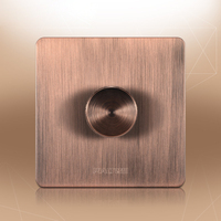 European Style Retro Antique Red Bronze Speed Switch 100 150W 110V 250V