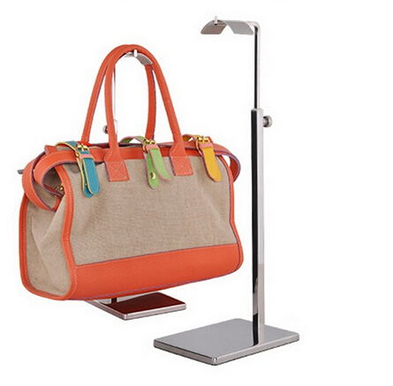 Aliexpress.com   Buy Mirror surface Stainless Steel Metal Handbag Hook  Display Rack Bag Holder Showing Handbag Stand bag rack furniture  accessories from ... 48de34bd3f7e2