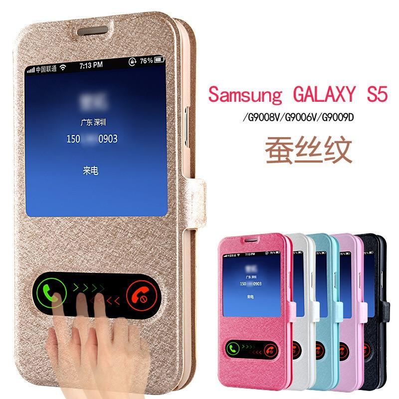 Coque-Cover Phone-Case S6-Edge-Plus Smart Samsung Galaxy S10-S10e Luxury S4 Window-View