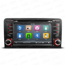 7″ 1080P Video Capacitive Touch Screen Car DVD Player with GPS Navigation Canbus for Audi A3 2003-2013