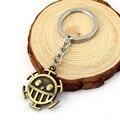 HSIC One Piece Keychain Surgeons Trafalgar Law Key Ring Men's Fashion Accessories Anime Dropshipping HC11541