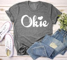 8c68b13ee Oklahoma Home Shirt ADULT T-Shirt Proud To Be An Okie women fashion unisex  heart graphic tumblr aesthetic tee casual goth tops