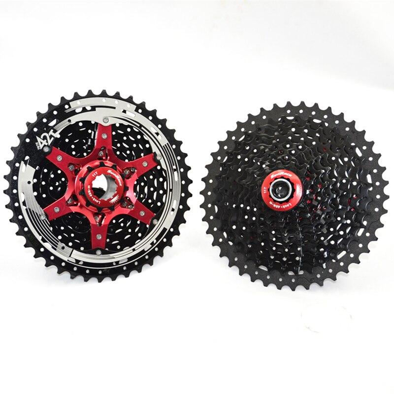 SunRace MTB Mountain Bike Bicycle Freewheel CSRX8 11 Speed 11-42T Road Cassette