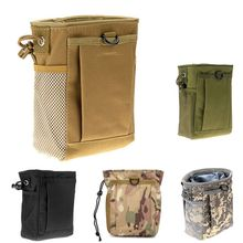 Military Protable Molle Pouch Utility Army Hunting Bag Rifle Tool Case Tactical Gear Gun Magazine Dump Drop Reloader EDC Bag