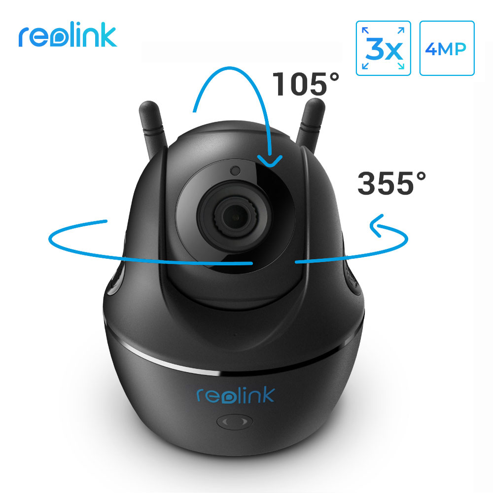 Reolink C2 Super HD 4MP Baby Monitor 3x Optcial Zoom 2 4G 5G WiFi Camera with