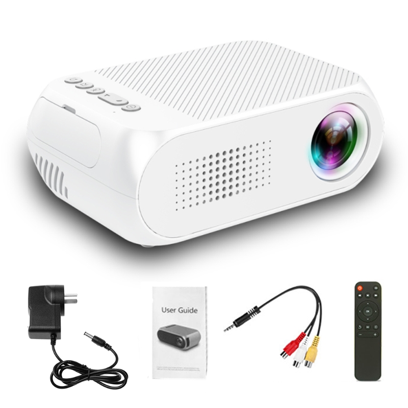 Video Conference System HD 1080P LED Home Multimedia Theater Cinema Mini Projector Portable Video Movie AU Plug
