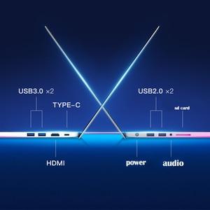 Image 4 - كمبيوتر الألعاب المحمول 15.6 بوصة هيكل معدني إنتل i7 6500U 8GB RAM 512 GB SSD 2G مخصص بطاقة الفيديو دفتر لمكتب الألعاب