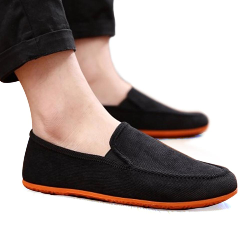 Men Shoes 2018 Fashion Casual Shoes Lightweight Breathable Slip-on Summer Loafers Ultra thin Soft bottom nis breathable mesh flat men shoes casual summer slip on shoes men patchwork stitching loafers sewing soft sole pu leather flats