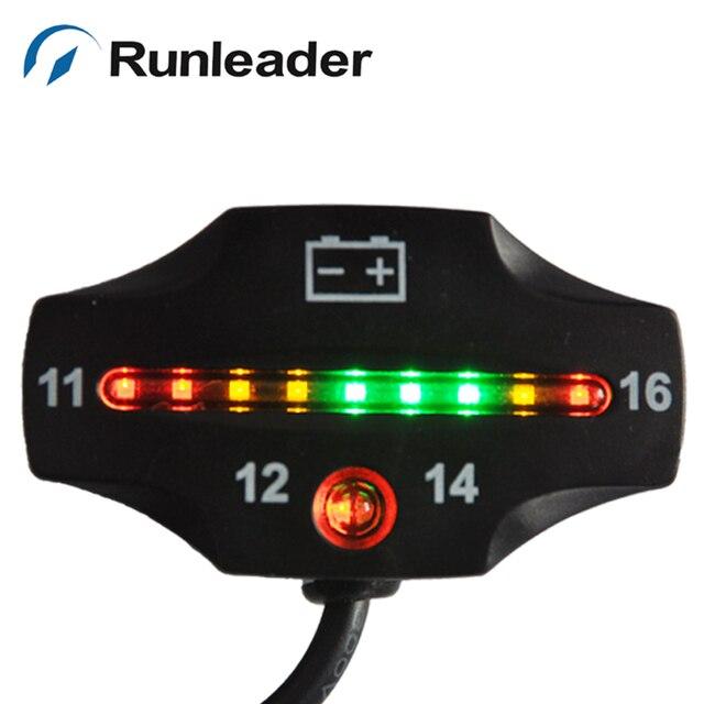 Runleader RL-BI006 бесплатная доставка 12 В Батареи Датчик индикатор батареи метр для Мотоцикла мотоцикл ebike снегоход велосипед ямы