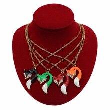 Stylish Fox Pendant Necklace for Ladies