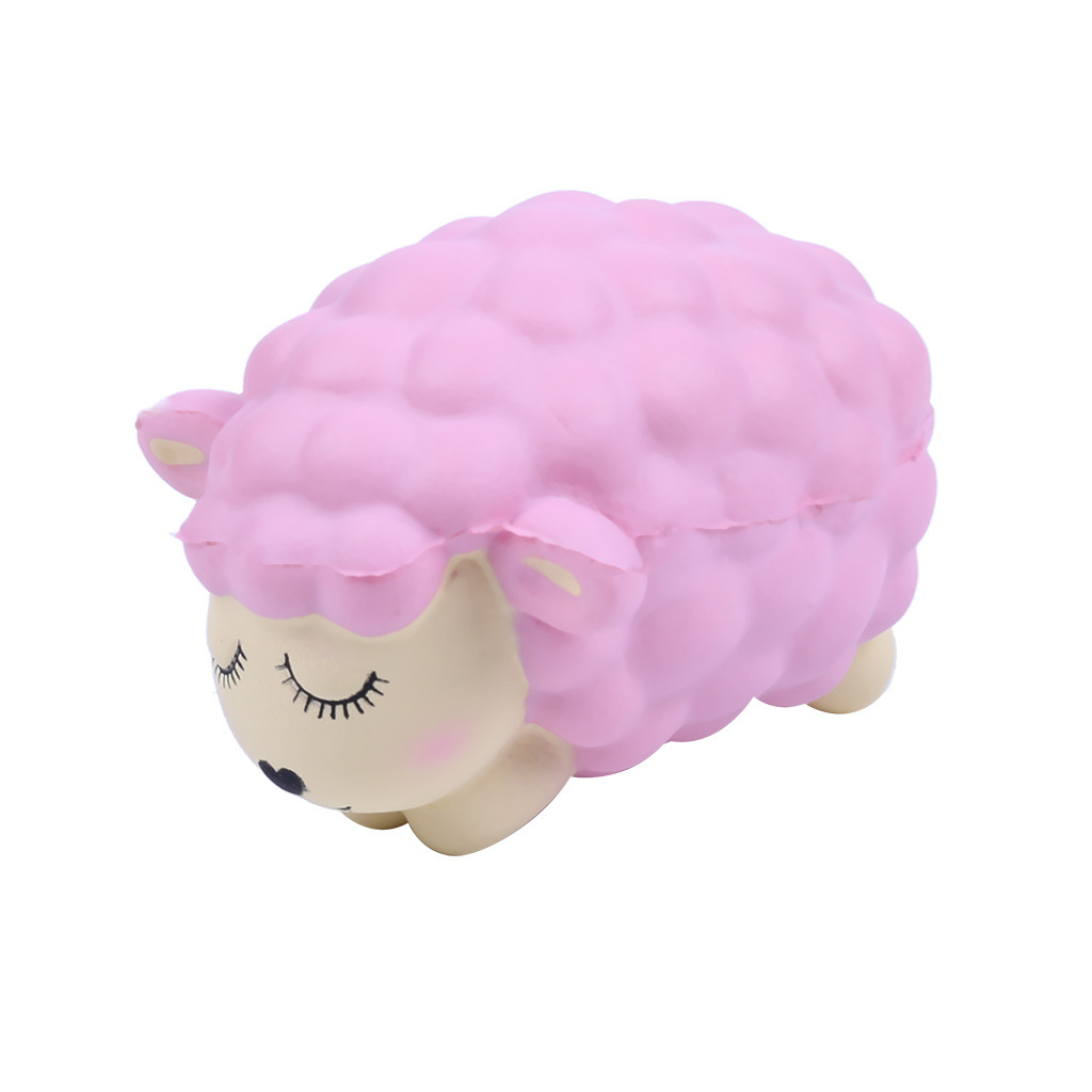 Stress Reliever Cute Lamb Scented Super Slow Toy Kids Squeezable Toy 2019 Gift for Kids fashion