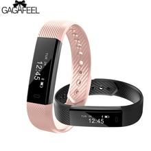 GAGAFEEL Increíble Relojes para Mujeres Hombres Deporte Podómetro Inteligente Reloj Pulsera para IOS Android Rastreador De Fitness Inteligente Muñequera