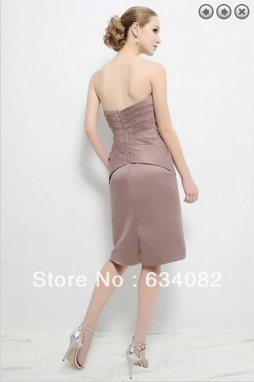 ücretsiz kargo sıcak satış 2014 zarif elbise artı boyutu - Düğün Abiye - Fotoğraf 4