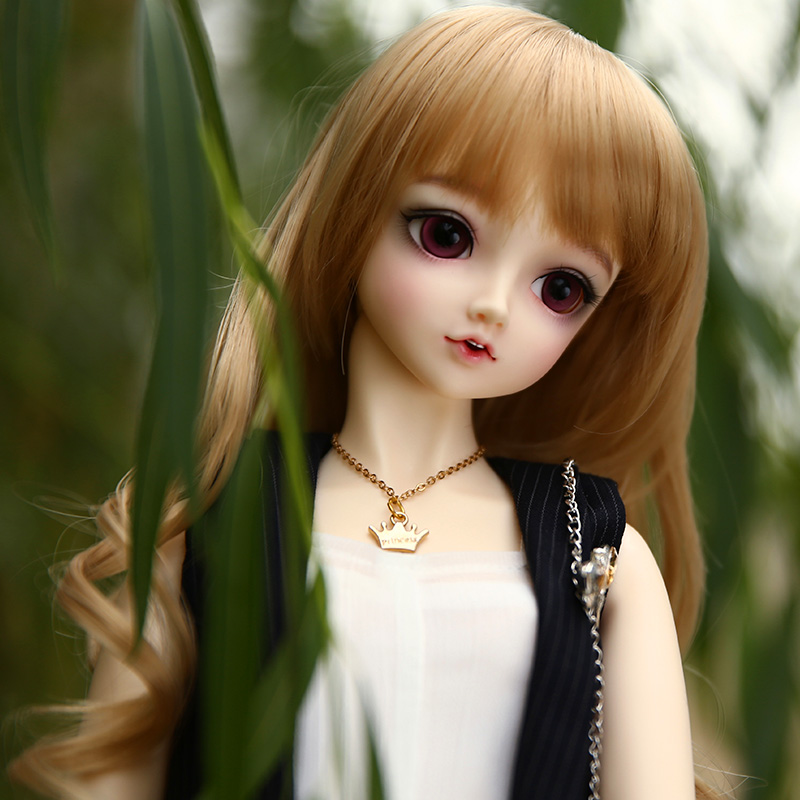 Lieselotte 1/3 BJD Doll MSD High Quality Toys Shop Resin Ball Joint Doll Fullset including clothes wigs eyes 1