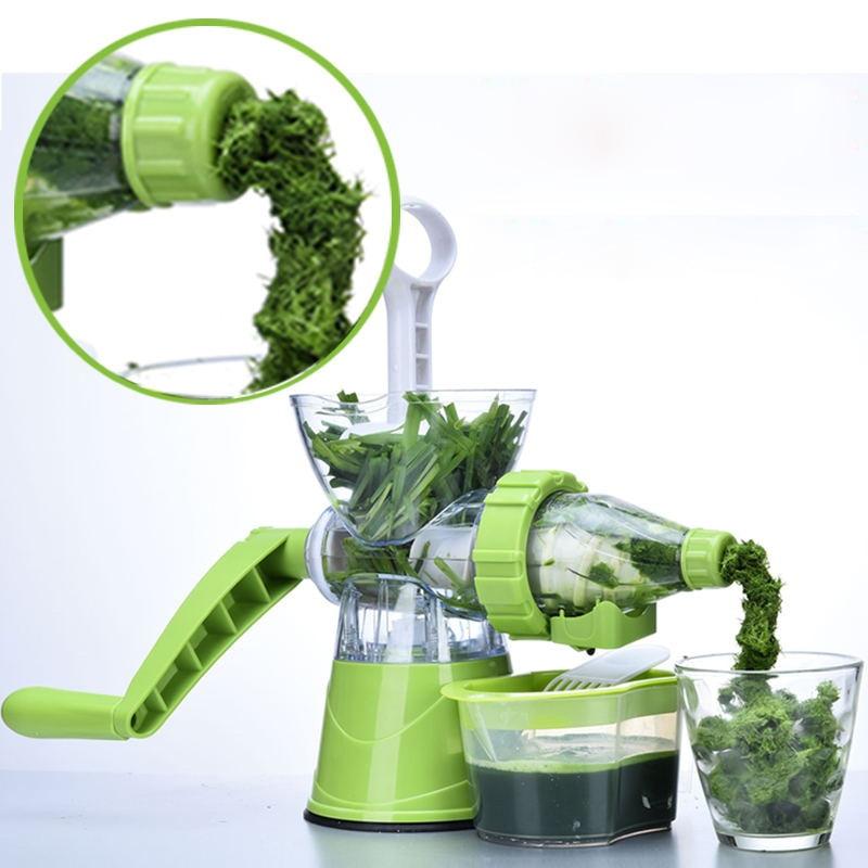 press juicer manual slow extractor blend fresh fruit wheatgrass juicer machine health ice cream machine hurom slow juicer