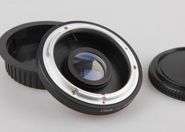 FD Lens to EOS EF Body Mount Adapter with Optical Glass Focus Infinity 450D  50D 5D 500D 550D 600D 650D 700D FD-EOS