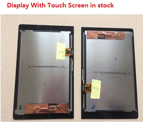 For Lenovo YOGA YT3-850M YT3-850F LCD Display With Touch Screen Digitizer Assembly Original Free Shipping With Tracking Number for lenovo vibe p1 lcd display touch screen digitizer assembly with frame replacement parts free shipping track number