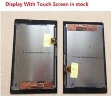 Para lenovo yoga yt3-850m yt3-850f asamblea lcd con pantalla táctil digitalizador original envío libre con número de seguimiento