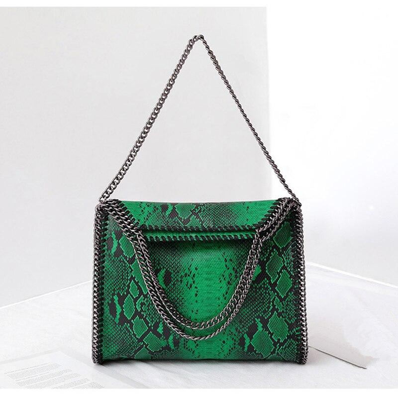 Léopard chaîne grand sac femmes en cuir sac à main dame Messenger sac pour femmes fourre-tout embrayage femme sac à bandoulière bolsos mujer bandolera