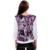 BFDADI 2016 la moda de Nueva mujeres de la camiseta tops y las camisetas de botón camiseta de Empalme Falso de Dos piezas de 3/4 de la manga ocasional más tamaño 79236
